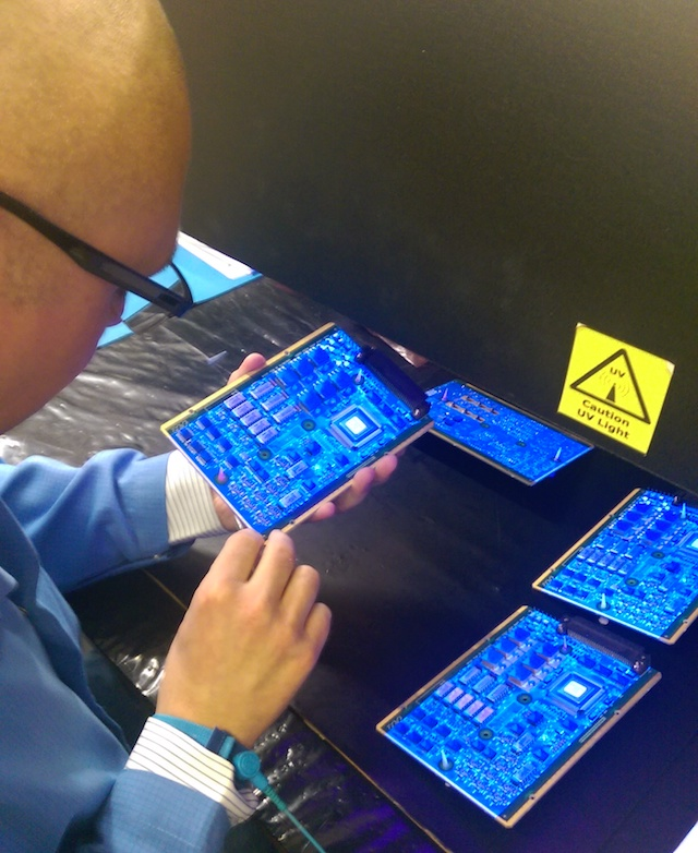 Conformal coating inspection criteria