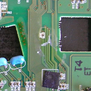 Conformal coating delimitation