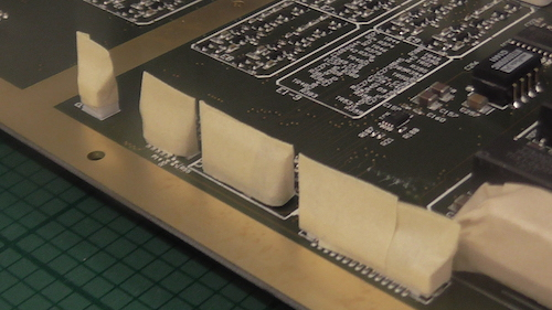 In general masking a circuit board for conformal coating can be a straightforward process.