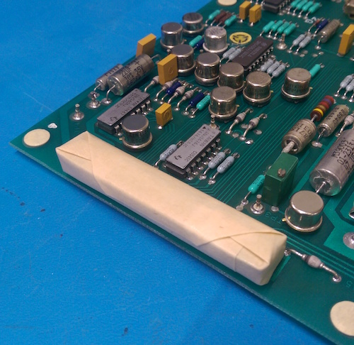 conformal coating masking with tape, dots, latex and boots