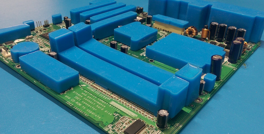 reusable conformal coating masking boots used before application