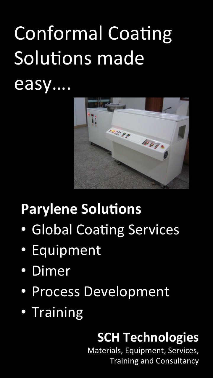 SCH Technologies Parylene Coating Services
