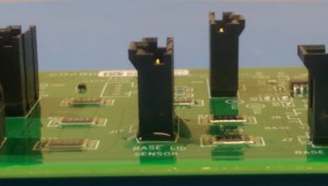 Circuit board conformal coating applied. The connector had no coating and no protective fluoropolymer so the water has wetted under the device