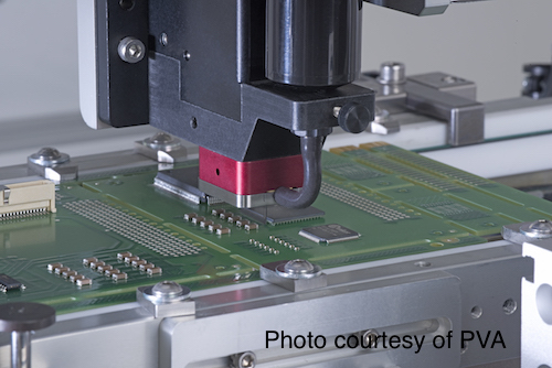 Its not recommended to use a conformal coating as an underfill